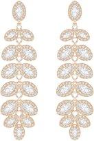 Swarovski Baron Crystal Linear Drop Earrings