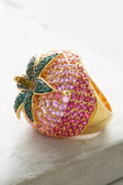 Noir Strawberry Cocktail Ring