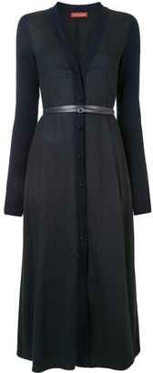 Altuzarra Allyson belted knitted dress