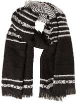 Even&Odd Scarf black/white
