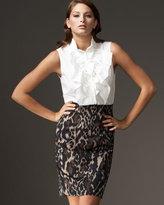 Madison Leopard-Print Skirt