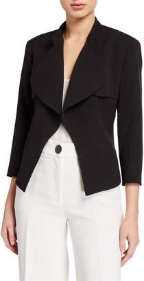 Anne Klein Cascade Collar Jacket