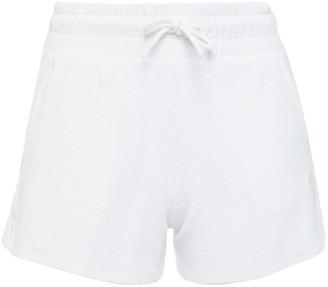 Les Girls Les Boys Cotton-terry Shorts