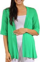 24/7 Comfort Apparel Cardigan Plus Maternity