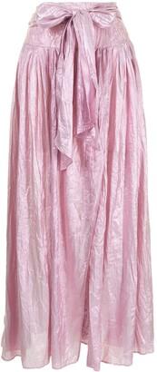Forte Forte Metallic High-Waisted Skirt