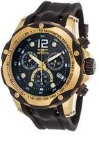 Invicta Men's 'Speedway' Swiss Quartz Stainless Steel and Polyurethane Casual Watch, Color: (Model: 20073)
