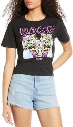 Circlex Rage Crop Graphic Tee