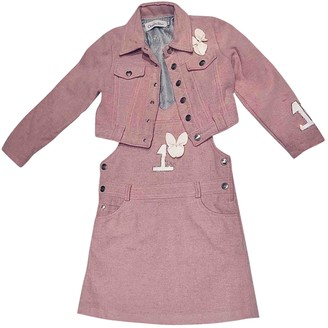 Christian Dior Pink Wool Outfits