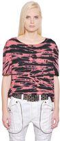 Faith Connexion Tie Dye Cotton Jersey T-Shirt