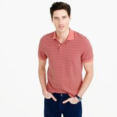 J.Crew Tall classic piqué polo shirt in thin stripe