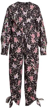 Isabel Marant Gigi Printed Jumpsuit