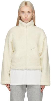 Nike Off-White Sherpa Swoosh Jacket
