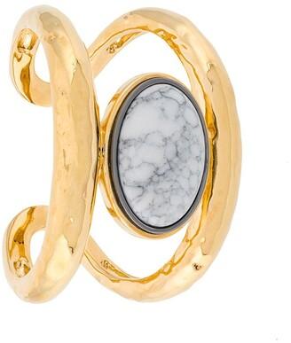 Aurélie Bidermann Marble Open Cuff