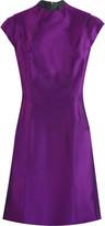 Briseux silk mini dress