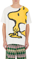 Gucci Men's Woodstock® Graphic Cotton T-Shirt-WHITE, BLACK, YELLOW, NO COLOR