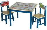 The Well Appointed House Guidecraft Transportation Theme Table and Chairs Set for Kids