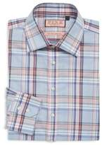 Thomas Pink Kessel Window Pattern Cotton Dress Shirt