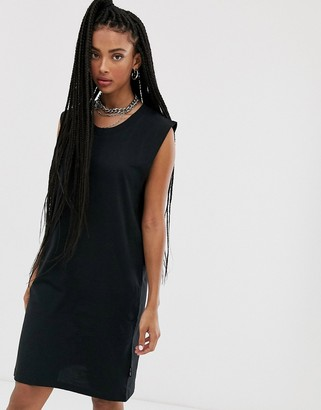 Cheap Monday Media tank dress-Black