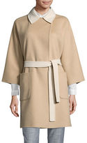 Weekend Max Mara Hobby Reversible Wool Coat