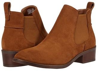 Steve Madden Direct Booties (Cognac Suede) Women's Boots
