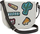 Arizona Gretchen Flap Saddle Crossbody Bag
