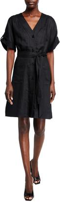 Equipment Bernyce Linen Dress