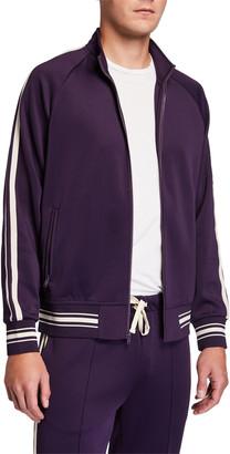 Ovadia & Sons Men's Ball Side-Stripe Track Jacket