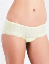 Calvin Klein Sheer Marquisette stretch-jersey hipster briefs