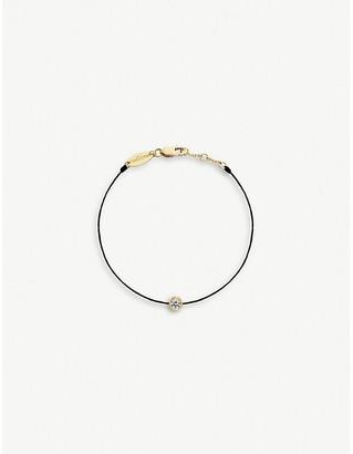 Selfridges Redline Pure silk thread and diamond bracelet