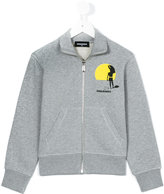 DSQUARED2 long sleeve jacket - kids - Cotton - 8 yrs