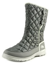 The North Face Thermoball Button Up Women Round Toe Synthetic Gray Winter Boot.