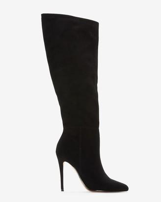 Express Knee High Asymmetrical Shaft Boots
