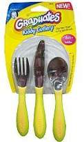 NUK Gerber BPA Free Kiddy Cutlery - Neutral