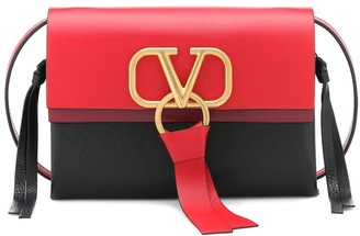 Valentino VRING Small leather crossbody bag