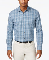 Alfani Men's Cotton Plaid Shirt, Created for Macy's