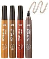 Etude House Tint My 4-Tip Brow, 4 Colors are available (-Gray Brown)