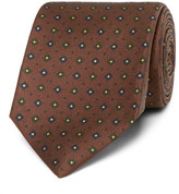 Drakes Drake's - Easyday 7cm Patterned Silk Tie