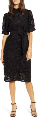 Vero Moda Ice Lace Tie Waist Dress