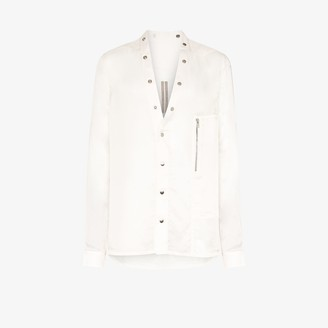 Rick Owens Larry Snap Button Shirt