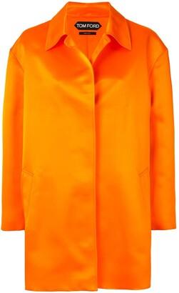 Tom Ford Silk Mid-Length Coat