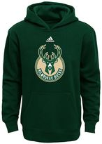 adidas Boys 8-20 Milwaukee Bucks Prime Pullover Fleece Hoodie