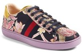 Gucci Women's New Ace Floral Sneaker