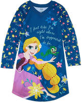 Disney Long Sleeve Tangled Nightshirt - Girls