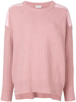 Moncler ribbed jumper - women - Cotton/Polyester/Cashmere/Virgin Wool - XS