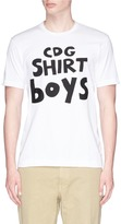 Comme des Garcons 'Boys' logo patch T-shirt