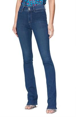 Paige Transcend Manhattan High Waist Bootcut Jeans