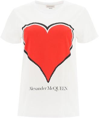 Alexander McQueen Graphic Heart T-Shirt