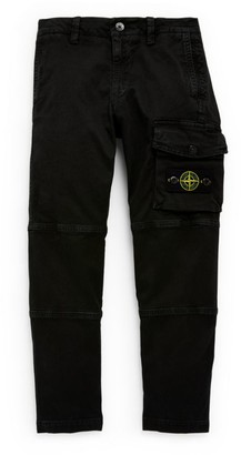 Stone Island Junior Compass Patch Trousers (4-14 Years)