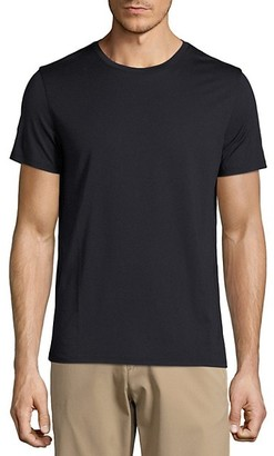 Theory Claey Plaito Regular-Fit Cotton Tee