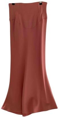 Tome Pink Viscose Skirts
